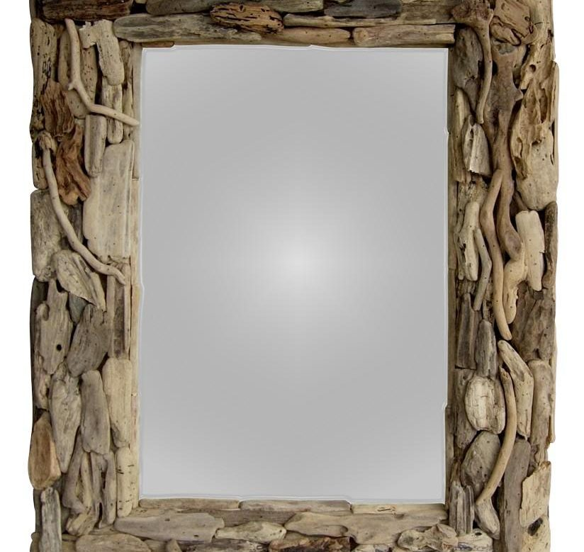 Natural Driftwood Mirror