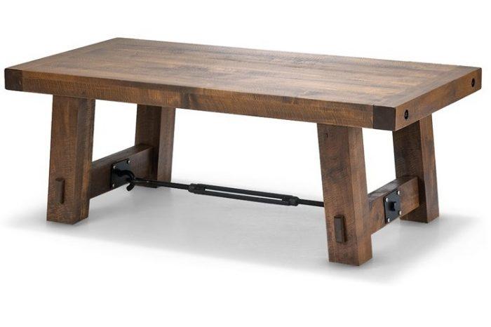 Unique Turnbuckle Coffee Table #Woodify
