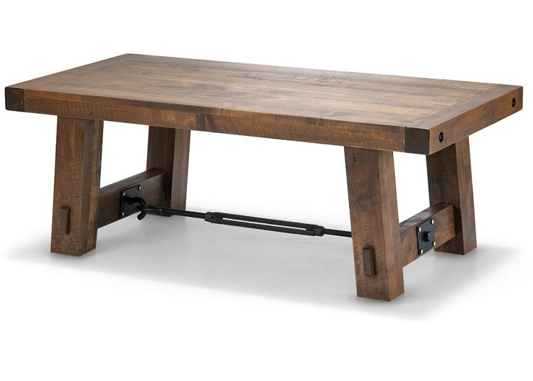 Unique Canadian Made Turnbickle Coffee Table - Wood Furniture Canada