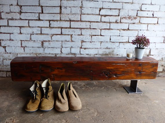Swell Reclaimed Barn Beam Benches Solid Wood Furniture Powered Ibusinesslaw Wood Chair Design Ideas Ibusinesslaworg